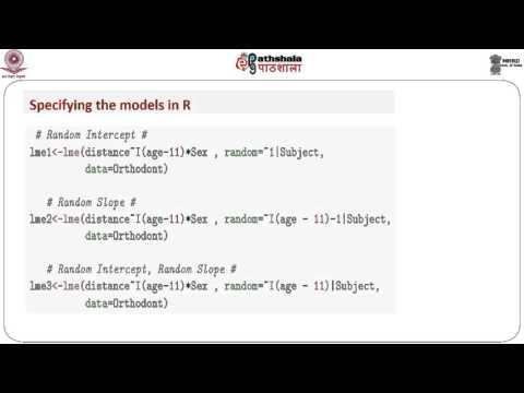 The linear mixed mode for Longitudinal Data Analysis - lII