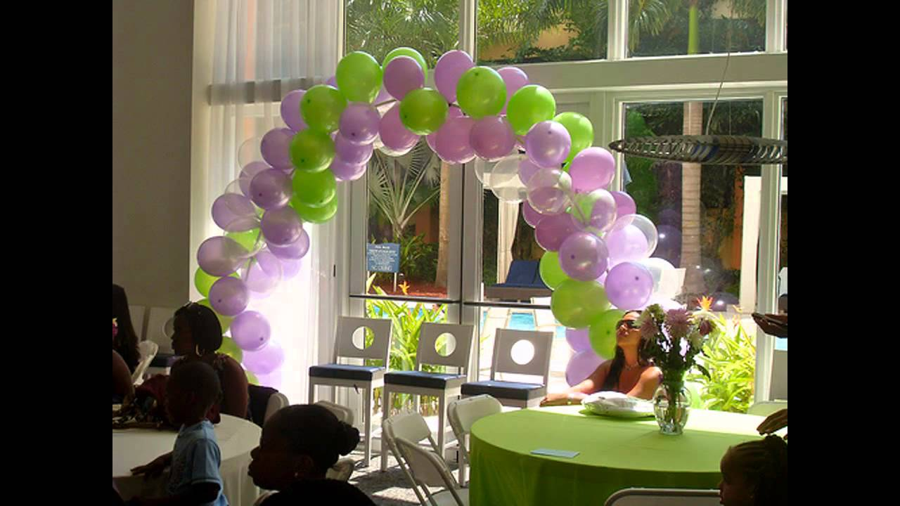 Baby Shower Decorating Ideas On A Budget Youtube