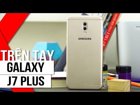 FPT Shop - Trên tay Galaxy J7 Plus 2 camera: xóa phông như note8, có cả nhận diện khuôn mặt