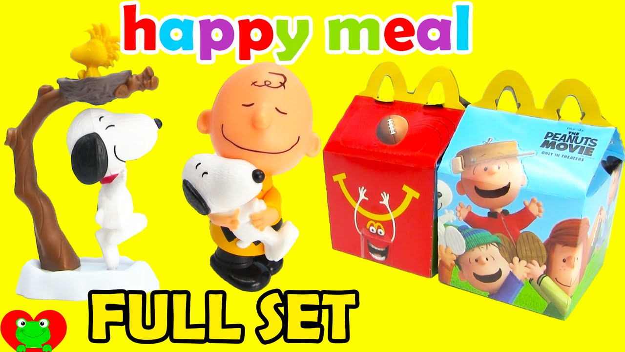 2015 Mcdonalds Happy Meal Toys Peanuts Movie With Snoop