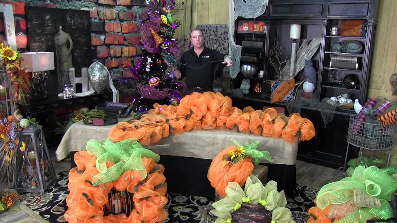 How to make a yard pumpkin trees n trends unique home for Home decorations youtube