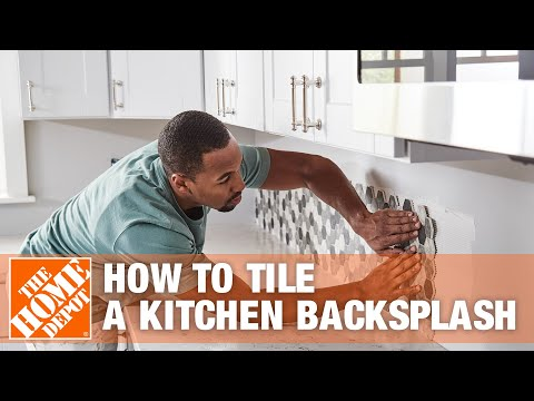 How to Tile a Kitchen Backsplash - The Home Depot