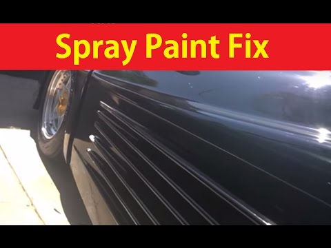 Repairing Chipped Car Paint on Ferrari Replica Easy DIY #5 ~ BTS Vlog