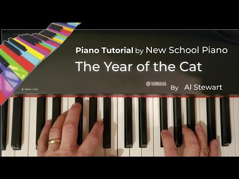 How to play the Year of the Cat by Al Stewart on piano