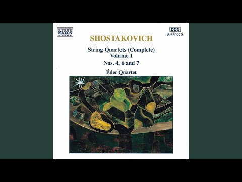 String Quartet No 6 in G Major, Op 101: I Allegretto