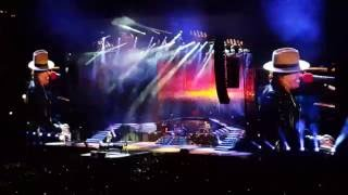 Guns N' Roses perform November Rain at Heinz Field in Pittsburgh, July 12, 2016