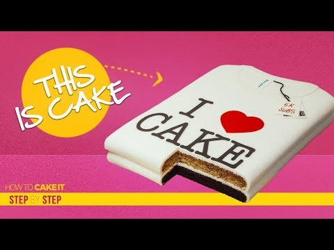 How To Make A T-Shirt  out of CAKE | How to decorate Step By Step | How To Cake It | Yolanda Gampp