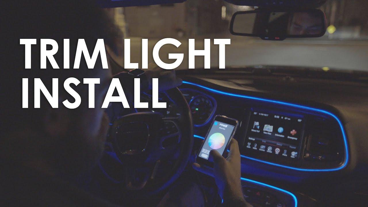 Type S Smart Trim Light Installation Youtube