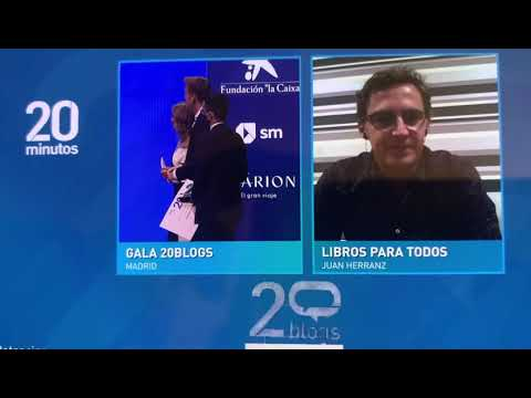 Mejor blog literario en español para juanherranz.com. Gala 20blogs del periódico 20 minutos.