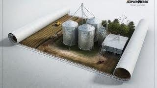 Сельскохозяйственный элеватор под ключ! Строительство элеваторов Kepler Weber Украина.(, 2013-09-19T16:26:20.000Z)