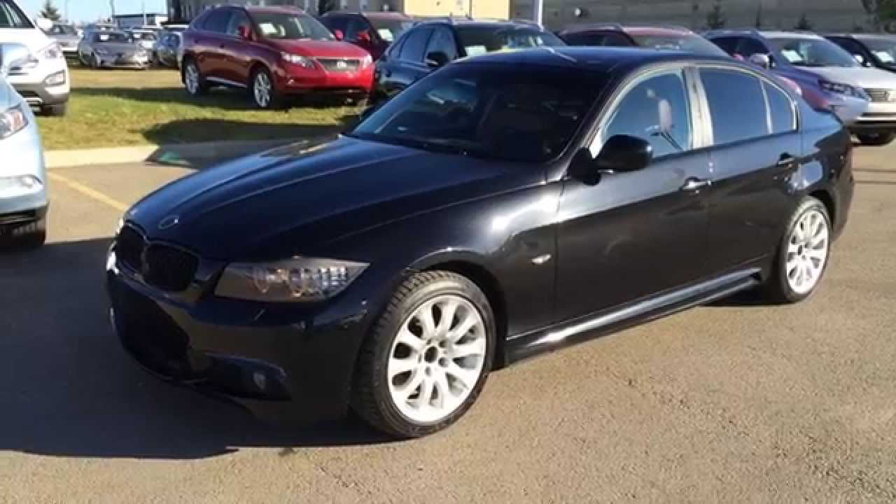 Pre Owned Black On Saddle Brown 2011 Bmw 3 Series 4dr Sdn