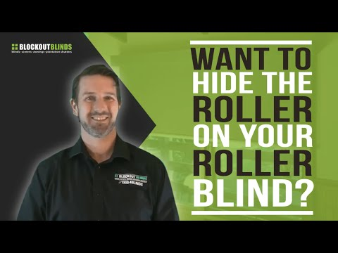 Want to hide the roller on your roller blind?
