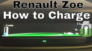How to Charge Renault Zoe and battery degradation, range and lease 🔋🔌