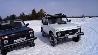 Сравнение BFGoodrich AT и Nokian Hakkapeliitta LT в снегу