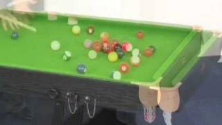 Www.madfun.co.uk - 6ft Folding Snooker Table Bce Fs-6 With Dartboard