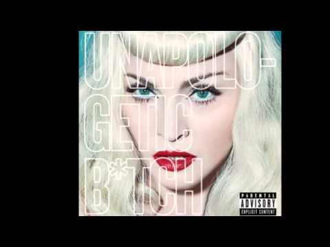 Madonna Unapologetic Bitch We R Superstars INSTRUMENTAL   NEW SONG 2014 FULL AUDIO HQ