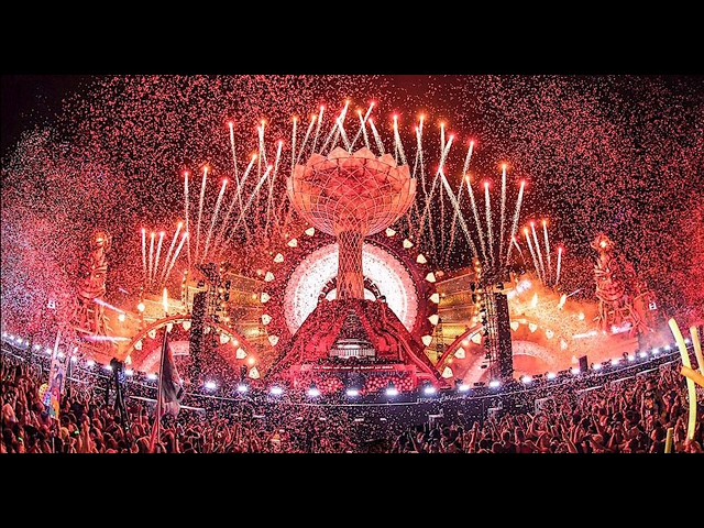 Edc Las Vegas 2016 - Kinetic Temple - Opening Ceremony
