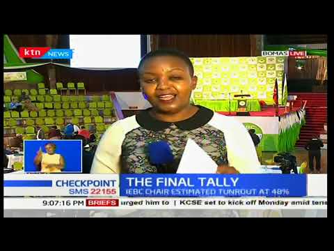 The final tally: IEBC criticized for slow tallying