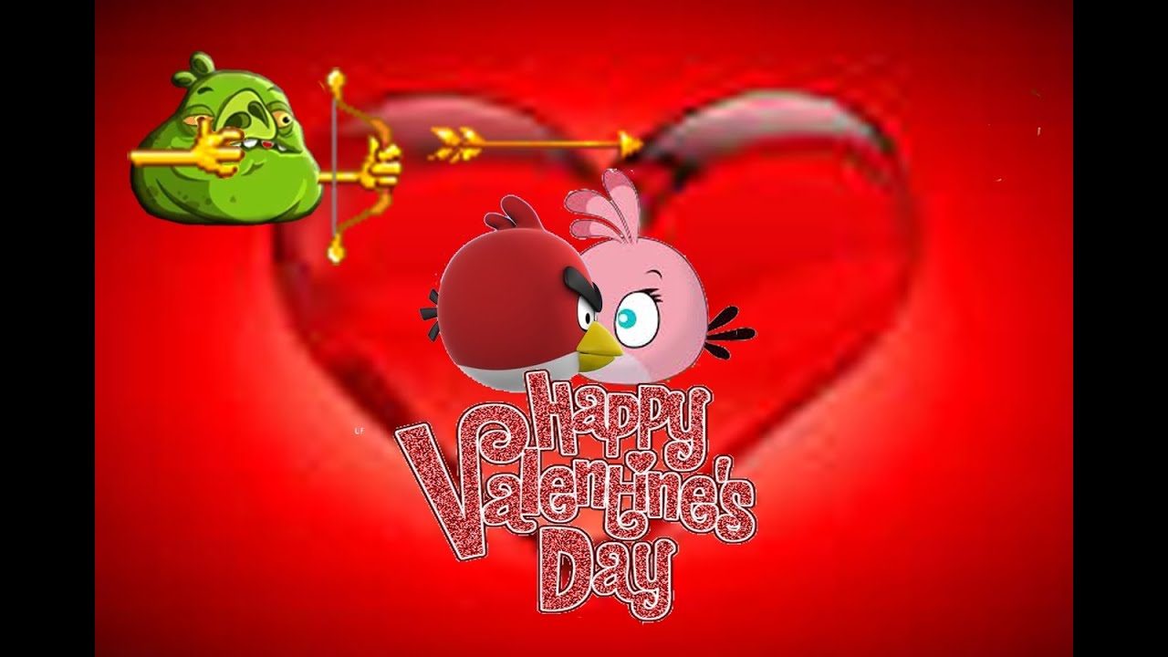 Angry Birds Valentine S Day 2014 By 3stargoldenegg Youtube