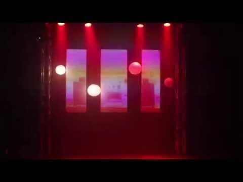 Mads Bang Og Alberte Radoor - Grundforløbsprøve 2015 (3D Mapping show)