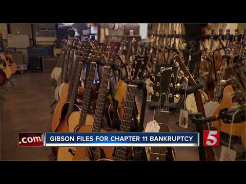 Gibson Brands Files For Chapter 11 Bankruptcy