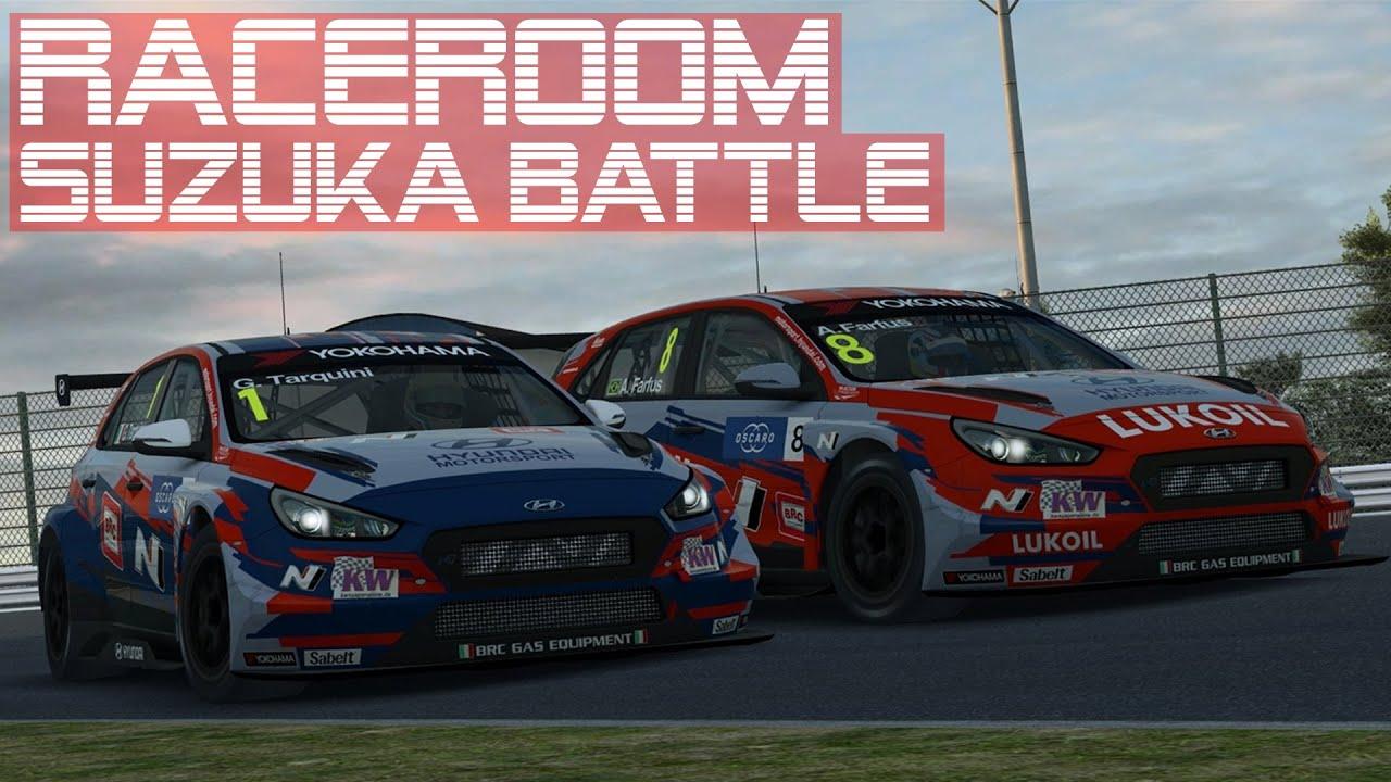 RaceRoom Epic Battle   WTCR 2019 Suzuka   Ranked Online