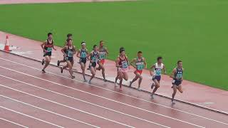 男子5000m 決 勝 9月30日 1着 14:54.87 [1761] 原 賢吾 (2) 水戸工 / 茨...