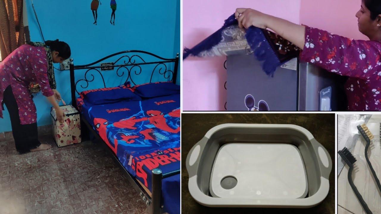 எல்லாம் மாத்தியாச்சு 💕 Home and kitchen needs | Cleaning and Setting up👍 | Meesho Home Needs haul