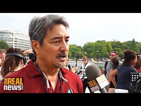 Michael Leon-Guerrero: People's Climate March