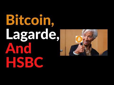"Bitcoin, Lagarde, HSBC, and ""Funny Business"""