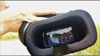 MJX BUGS 8 FPV GOGGLES AND MONITOR how to DIY Setup