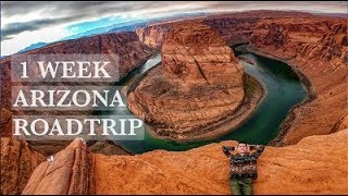 Arizona Roadtrip - Sedona, Grand Canyon, Page (Must See Locations!!)
