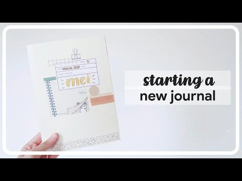 🌱 starting a new journal ~ asmr + real time | maiden manila