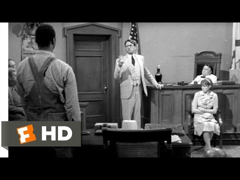 To Kill a Mockingbird 410 Movie   Atticus CrossExamines Mayella 1962 HD