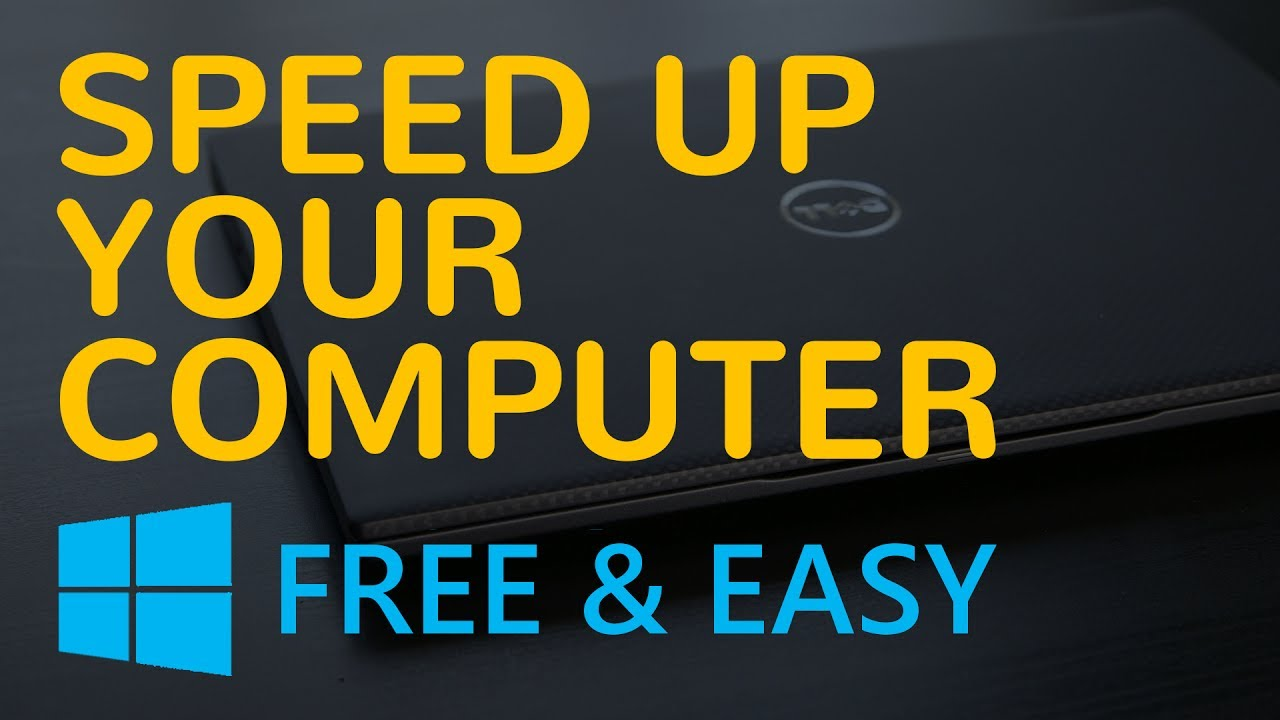 tips to speed up computer performance