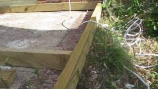 Carlos Building A Wood Deck.wmv