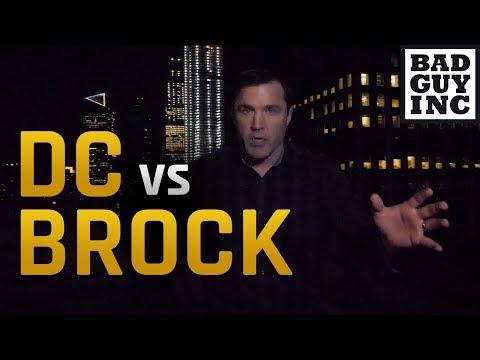 What happened to Daniel Cormier vs Brock Lesnar?