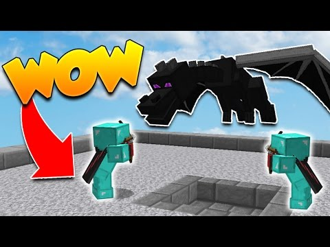 UN PRO vs DES DRAGONS NOOB! - Minecraft BED WARS