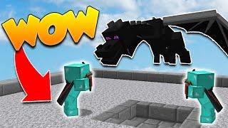UN PRO vs DES DRAGONS NOOB! - Minecraft BED WARS