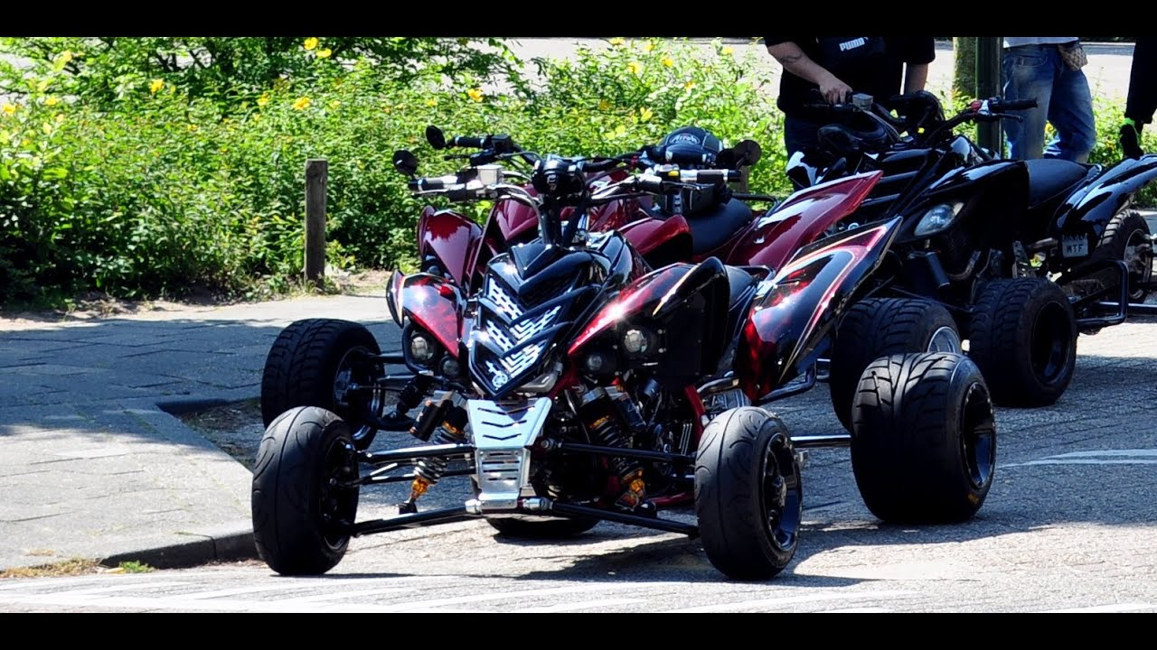 world 39 s first yamaha raptor with rideheight adjustment. Black Bedroom Furniture Sets. Home Design Ideas