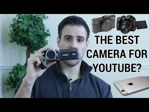 How to Pick the Best Video Camera for YouTube Videos