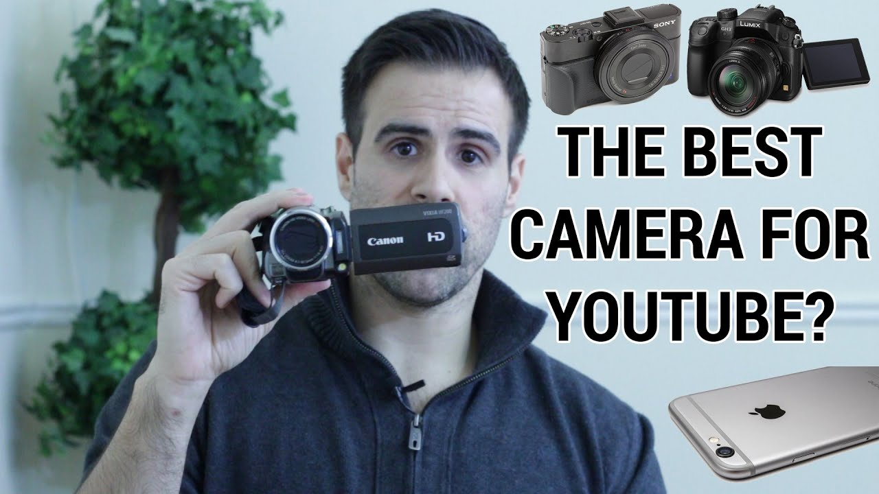 How to Pick Good Cameras for YouTube To Become YouTube Star?