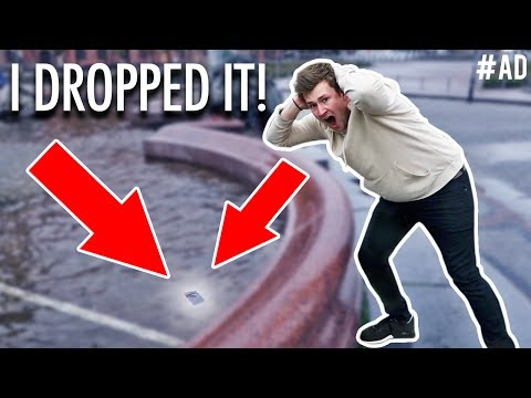 Thumbnail: I DROPPED MY PHONE IN THE FOUNTAIN...