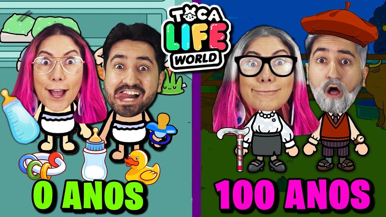 ROTINA DE 0 A 100 ANOS no Toca Life
