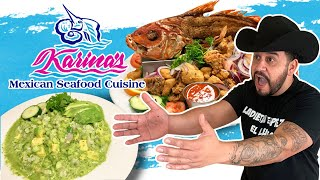 I was craving Seafood so I went to the Best Seafood Restaurant - Karina&#39s Mexican Seafood Restaurant