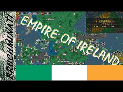 World Conqueror 3  2005(HOI) Mod | Ireland 1937, The Rise Of The Irish Empire (FULL)