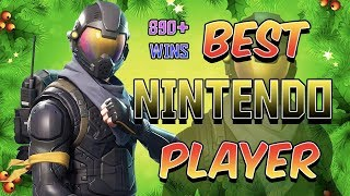 Fortnite Best Nintendo Switch Player 890+ Wins! ( Winter Royale )