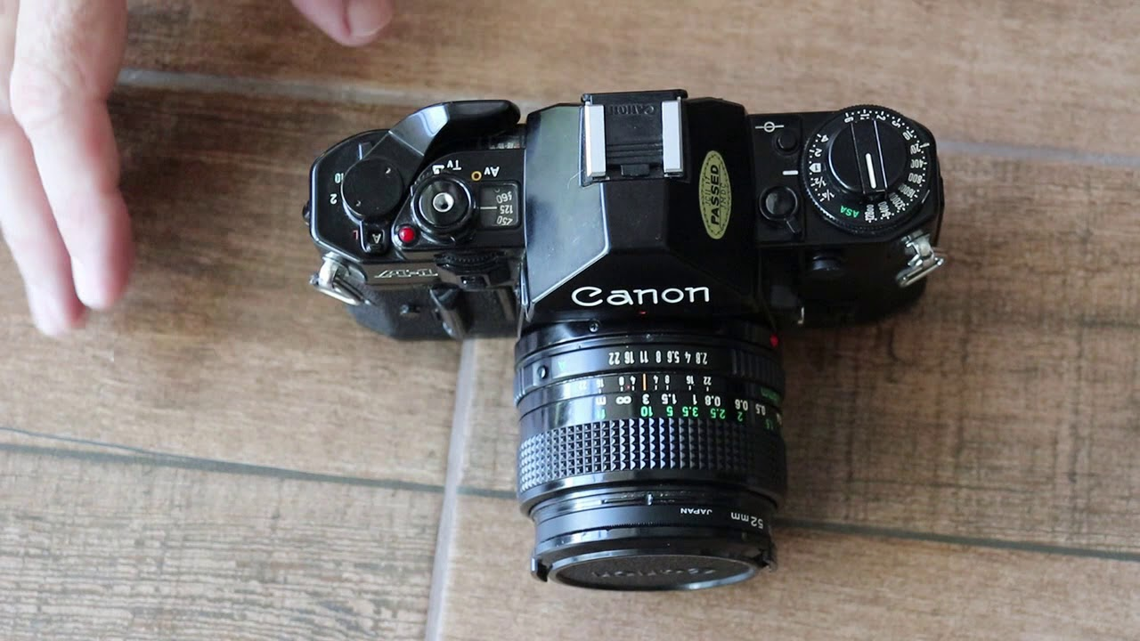 Canon A1 Film Camera Overview And User Guide