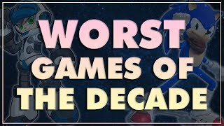 Top 10 Most Disappointing Games of the DECADE (2010-2019)