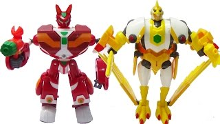 Siêu nhân kết hợp Thỏ Vui Vẻ - Đại bàng nghiêm khắc - Siêu Robot Tốc độ thumbnail
